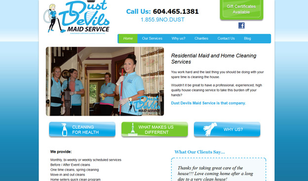 Dust Devils Maid Service
